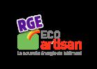 Logo eco artisan isolation