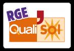 Logo qualisol rge sans millésime